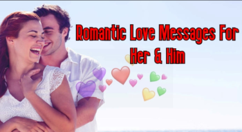 Sweet love messages for your lover or crush